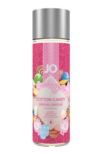 Смазка на водной основе Candy Shop Cotton Candy с ароматом сладкой ваты - 60 мл.
