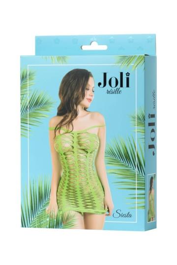 Эффектное платье-сетка Joli Siesta