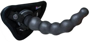 Чёрная насадка BALLS 3 - 22 см.
