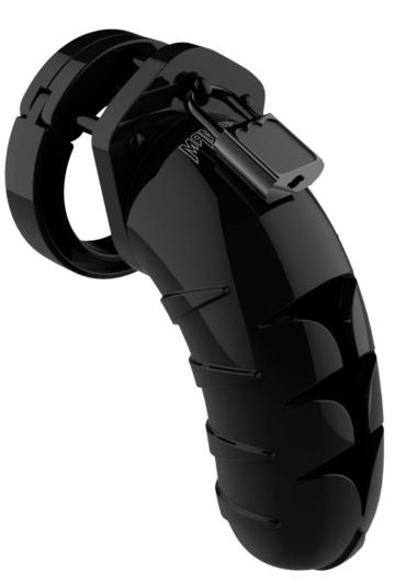 Черный мужской пояс верности Model 04 Chastity