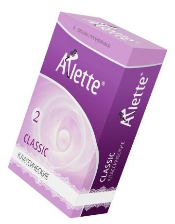Классические презервативы Arlette Classic - 6 шт.