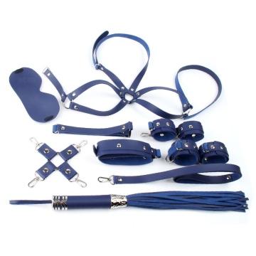 Синий набор БДСМ-девайсов Bandage Kits