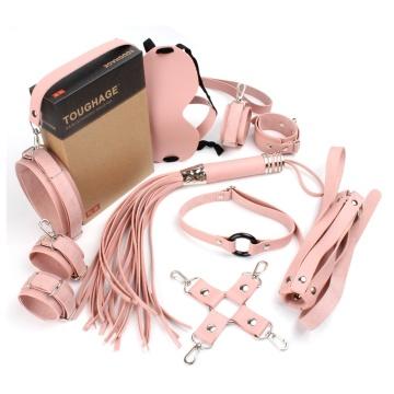Розовый набор БДСМ-девайсов Bandage Kits