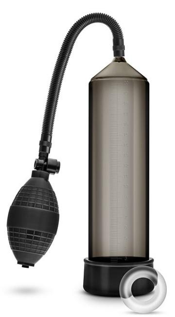 Черная вакуумная помпа VX101 Male Enhancement Pump