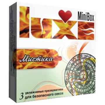 """Презервативы Luxe Mini Box """"Мистика"""" - 3 шт."""