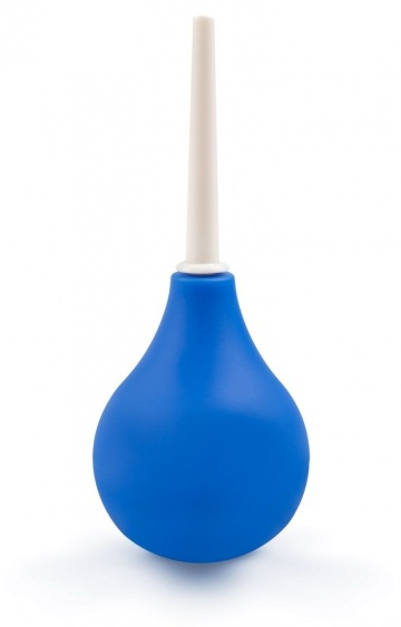 Синий анальный душ Brazzers