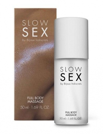 Массажный гель Slow Sex Full Body Massage - 50 мл.