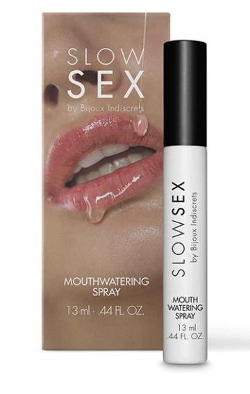Спрей для усиления слюноотделения Slow Sex Mouthwatering Spray - 13 мл.