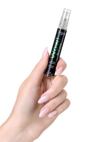 Оральный спрей Orgie WOW! Blowjob Spray с охлаждающим и возбуждающим эффектом - 10 мл.