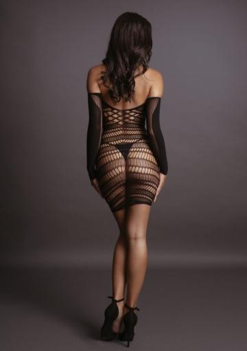 Пикантное мини-платье Long Sleeved Mini Dress