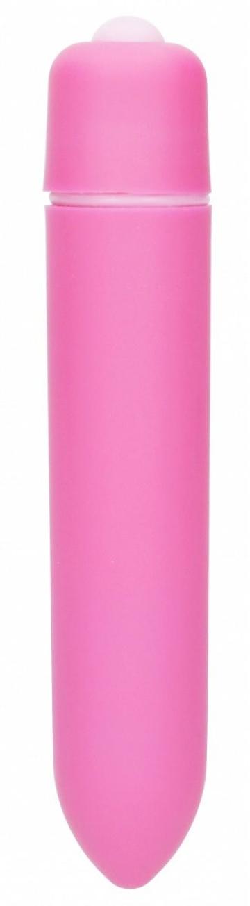 Розовая вибропуля Speed Bullet - 9,3 см.