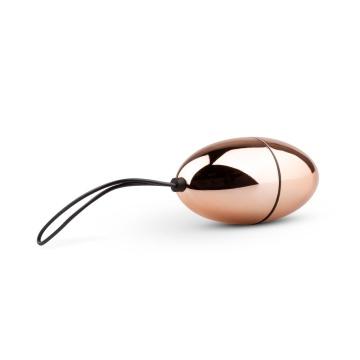 Розовое виброяйцо New Vibrating Egg с пультом ДУ