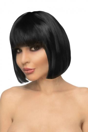 """Черный парик """"Айяно"""""""