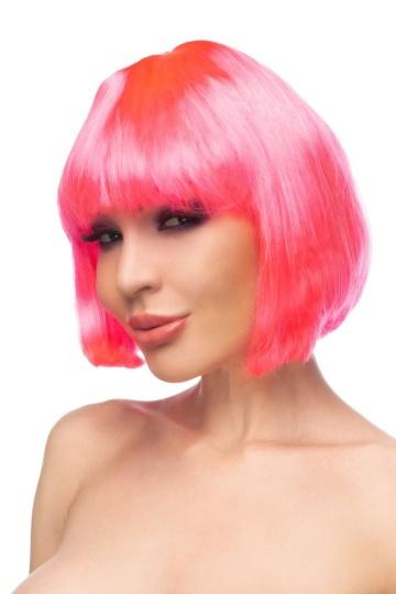 "Ярко-розовый парик ""Ахира"""