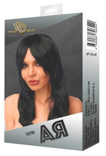 """Черный парик """"Ая"""""""