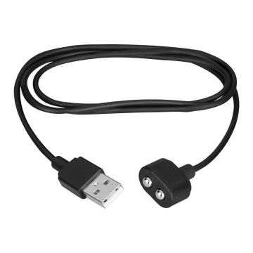 Черный магнитный кабель для зарядки Saisfyer USB Charging Cable
