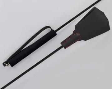"""Черный классический стек-лопатка """"Готика"""" - 77 см."""