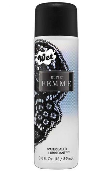 Премиальный женский лубрикант на водной основе Wet Elite Femme - 89 мл.