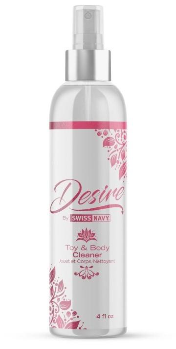 Очищающий спрей для тела и игрушек Desire Toy&Body Cleaner - 118 мл.