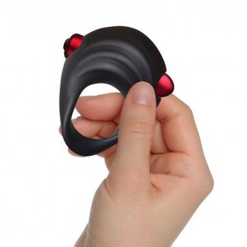 Вибронабор для пар Truly Yours Red Temptations: вибратор, кольцо и анальный вибратор