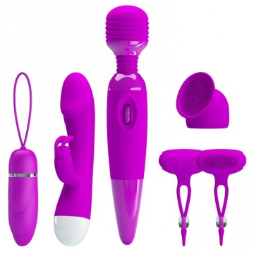 Женский вибронабор Purple Desire