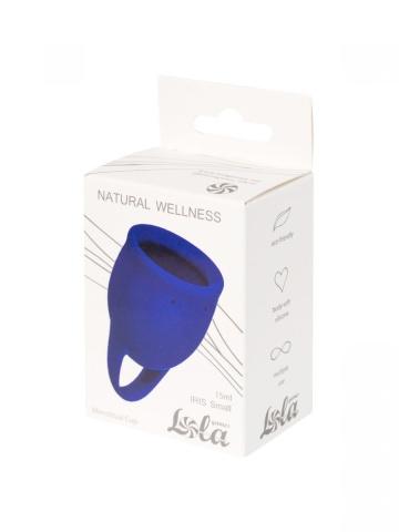 Синяя менструальная чаша Iris - 15 мл.