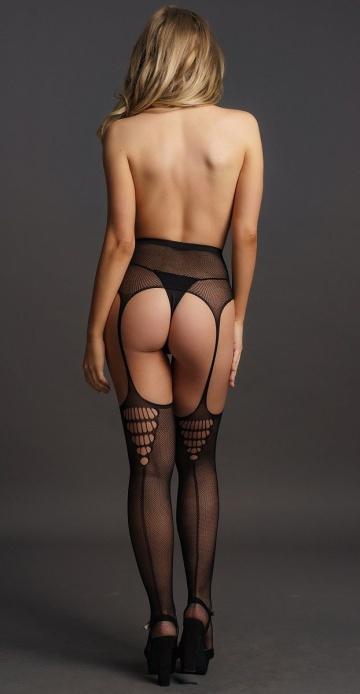 Чулки на высоком поясе High-waist Garterbelt Stockings