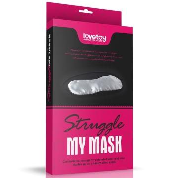 Сплошная маска на глаза Struggle My Mask