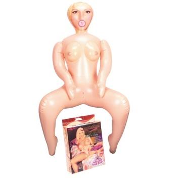 Надувная секс-кукла в позе наездницы Jezebel Ryding