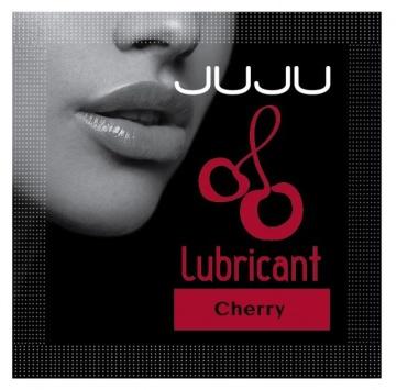 Пробник съедобного лубриканта JUJU с ароматом вишни - 3 мл.