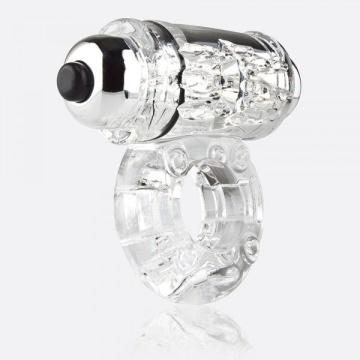 Прозрачное эрекционное виброкольцо OWOW CLEAR