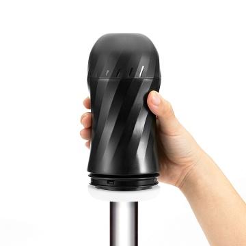 Мастурбатор с регулируемой плотностью обхвата Custom Strength CUP Twist Ripple