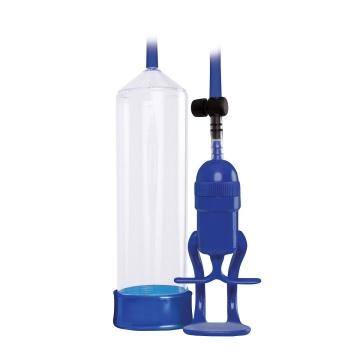 Прозрачно-синяя вакуумная помпа Renegade Bolero Pump