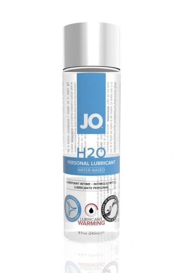 Разогревающий лубрикант на водной основе JO Personal Lubricant H2O Warming - 240 мл.