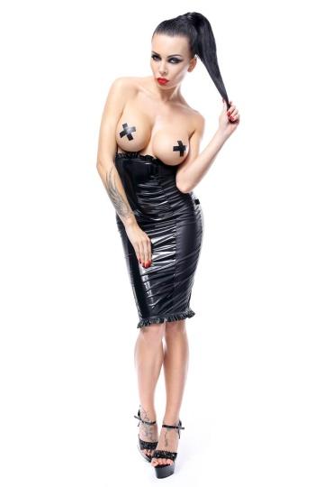 Платье с открытой грудью Anija