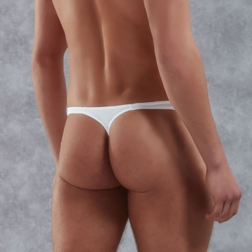 Мужские стринги из хлопково-модальной ткани