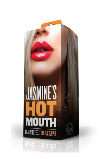 Телесный мастурбатор-ротик Jasmines Hot Mouth