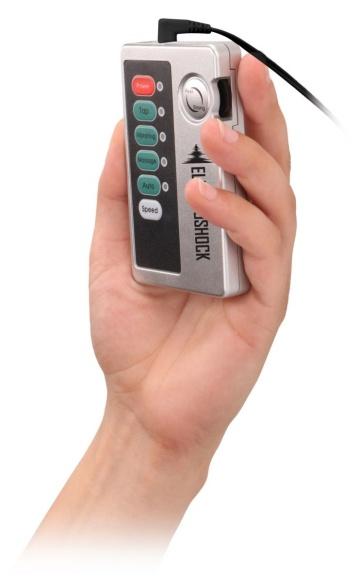 Темно-серая анальная пробка с электростимуляцией Bold Butt Plug - 14,1 см.