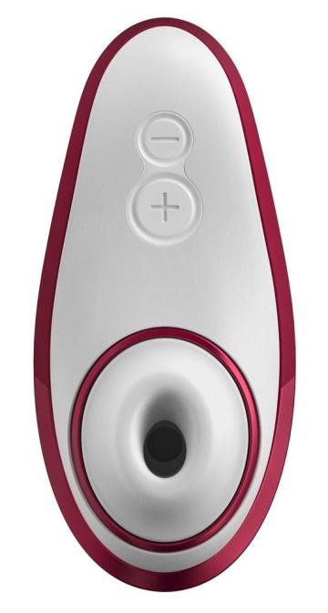 Красный бесконтактный клиторальный стимулятор Womanizer Liberty