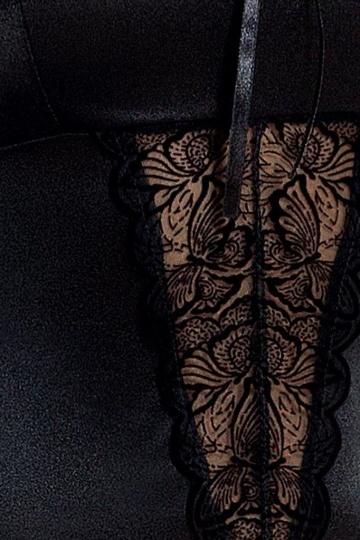 Сексуальный корсаж с изысканным кружевом Lauren